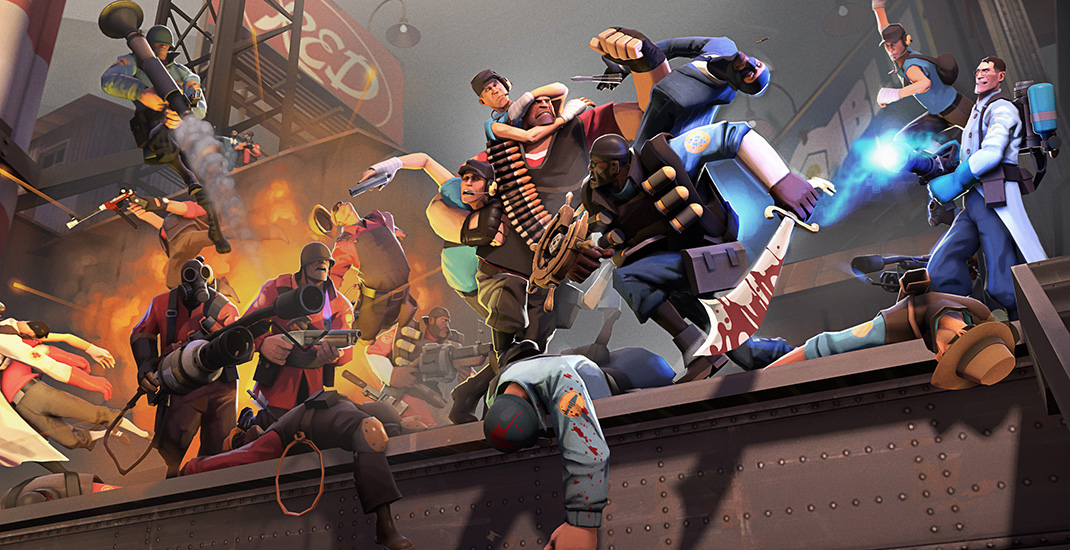 Large Team Fortress 2 Update Today! + Other Source Updates